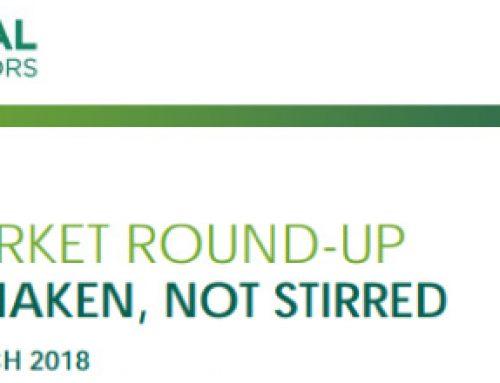 Weekly Market Round-Up: 9 March 2018